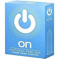 ON Natural feeling, 3er Pack Kondome, 3 Stück preisvergleich bei billige-tabletten.eu