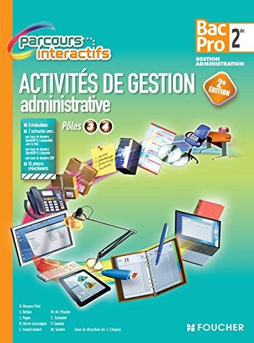Parcours Interactifs Activit de gestion administrative 2de BAC PRO