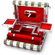 Decorativo joyería almacenamiento caja vanidad caja titular regalo artículo