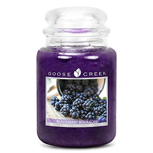 2 Unzen Blackberry (Goose Creek Kerzen-Glas 24 Unzen - Blackberry Bourbon)