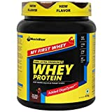 #4: MuscleBlaze Whey Protein (Trial Pack) 0.4 kg / 0.8 lb, Rich Milk Chocolate