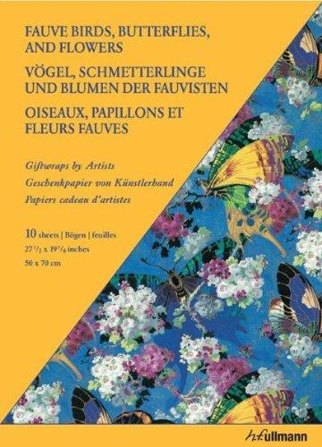 Giftwrap Paper - Fauve Birds: Geschenkpapiere von Künstlerhand (Giftwraps by Artists)