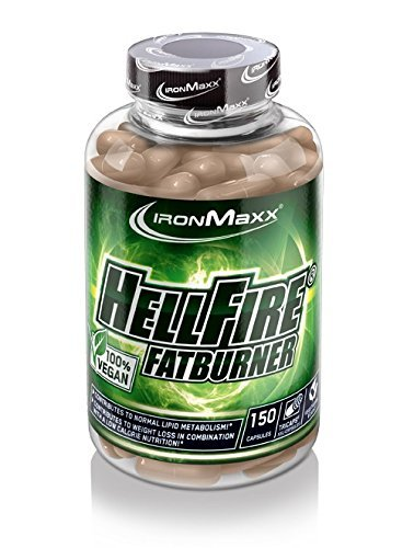 Ironmaxx Hellfire FATBURNER VEGAN (150 TRICAPS) by IronMaxx
