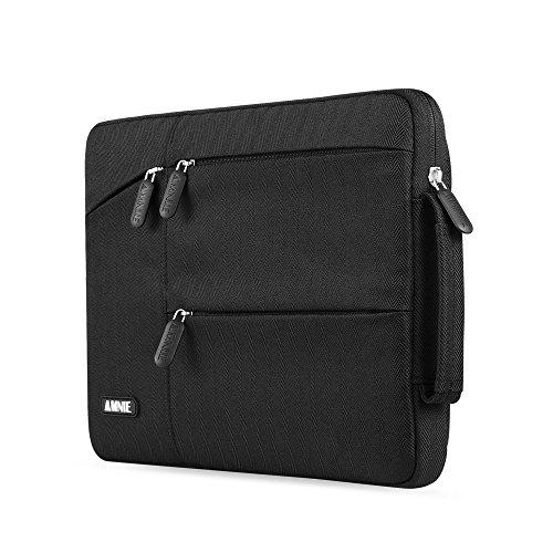 beste-praktisch-laptop-tasche-aller-zeiten-amnie-herringbone-polyester-wasserresistente-33-338-cm-13