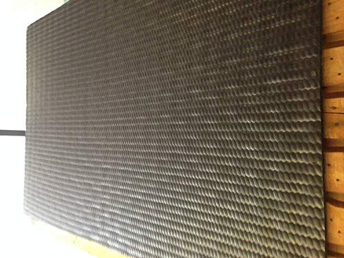1x Schwarz EVA stabile Bodenmatten 18mm dick 1,82x 1,22m geeignet für Pferde, Ponys oder Nutztiere Bodenbelag auch geeignet für Turnhallen