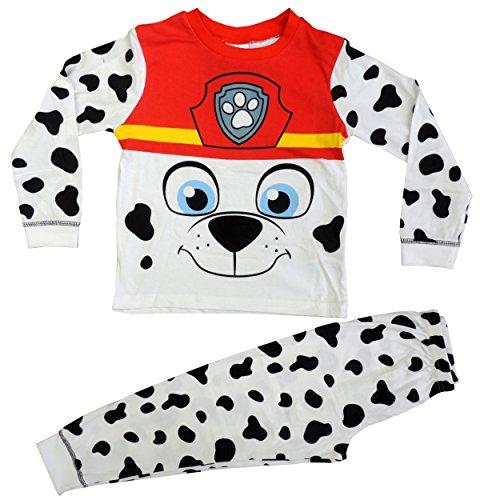 Paw Patrol Novely Pyjama Marshall PJ's Nightwear Ages 18 Months to 6 Years