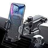 VANMASS Handyhalter fürs Auto Handyhalterung 3 in 1 Kfz Handy Halterung mit Lüftungsklammer & Saugnapfshalterung Gummipad für iPhone XS Max XR X 8, Samsung Galaxy S10 S10+ S9 S8 S7 Huawei Mate 20 usw