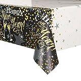 Unique Party Glitzer-Pappteller für Silvester-Partys, Neujahr-Partys