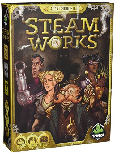 Steam Works - Board Game - English