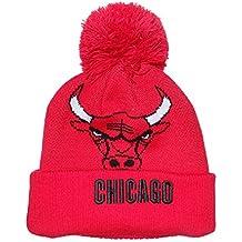adidas Chicago Bulls Gorro Pom Gorro de Punto Gorra d77db491afa