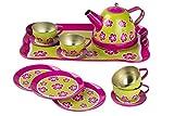 Guilty Gadgets  14-teiliges Kinder-Teeset mit Kinderspielzeug, Picknickküche, Teekanne, Tassen, Teller, Spielset für Kinder