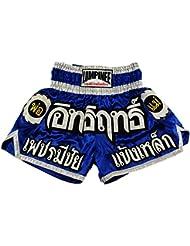 Lumpinee Muay Thai Kick Boxeo Pantalones Boxeo Tailandes : LUM-015 Talla M