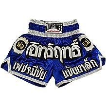 Lumpinee Muay Thai Kick Boxeo Pantalones Boxeo Tailandes : LUM-015 Talla XL