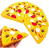 Kawaii Mini pizza Tefamore Squeeze Squishy Lento Rising Crema Decompression Popular Juguete