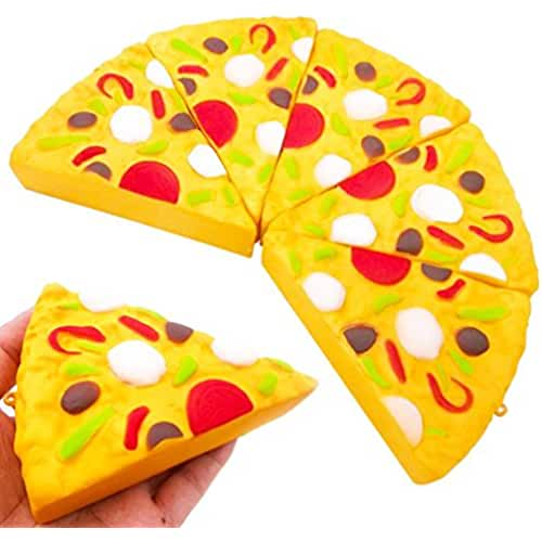 mini kawaii miniaturas kawaii Kawaii Mini pizza Tefamore Squeeze Squishy Lento Rising Crema Decompression Popular Juguete
