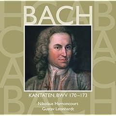 """Cantata No.170 Vergn�gte Ruh, beliebte Seelenlust BWV170 : II Recitative - """"Die Welt, das S�ndenhaus, bricht nur in H�llenlieder aus"""" [Counter-Tenor]"""