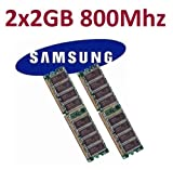 Dual Channel Kit SAMSUNG 2 x 2 GB = 4GB