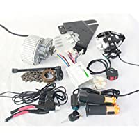 450W upgrade electric bicycle brush motor lens electric bike headlight throttle with key switch barke lever can fit mirrors (36V450W)