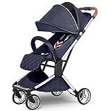 Kinderwagen Kann Horizontal Tragbare Klappschock Trolley Reise Vier Jahreszeiten Universal Newborn Optional 3 Farbe Full Cover Markise Sitzen