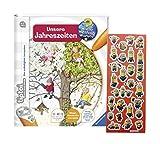 Ravensburger tiptoi  Buch - Unsere Jahreszeiten + Minions Sticker
