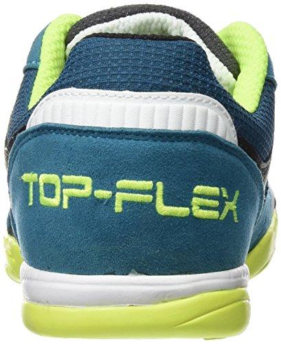 Scarpe da calcetto JOMA TOP FLEX 616 GRIGIO-BLU INDOOR Grigio