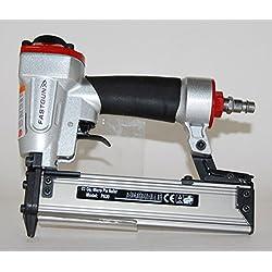 Clavadora Neumática FASTGUN P630 para agujas 0,6 mm y hasta 30 de largo + 2.000 Puntas + Maletín - Especial Tapetas