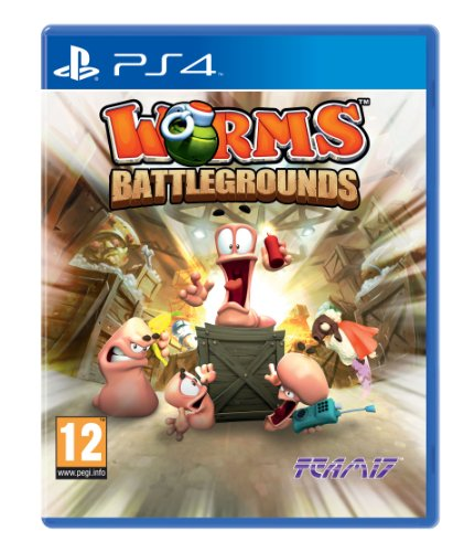 Worms Battlegrounds (PS4) Best Price and Cheapest
