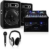 DJ Rack Star Series Sol Lightning PA Komplettanlage 1200 Watt