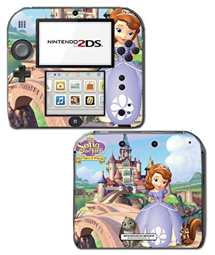 irst Dress Doll Cartoon Video Game Vinyl Decal Skin Sticker Cover for Nintendo 2DS System Console by Vinyl Skin Designs ()