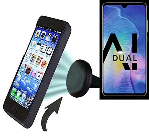 K-S-Trade Für Huawei Mate 20 X Auto Handy Halterung KFZ Halter Lüftungsgitterhalterung Air Vent Mount Smartphone Halter für Huawei Mate 20 X -