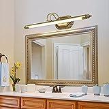 Seeksung Luce A Specchio Lampada da Parete A Luce per Bagno, Luce per Trucco A LED Bagno Dresser Luce per Armadio A Specchio 9W / 11W,M