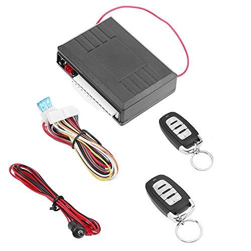asiproper Universal Auto Fernbedienung Central Tür Lock Verriegelung Keyless Entry System (Auto Remote Universal Alarm)