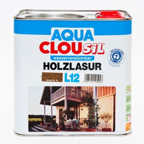 Preisvergleich Produktbild AQUA CLOUsil L12 12 braun 2,5 L