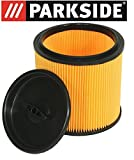 Parkside–Filtro Parkside Lidl bagnato asciutto aspirapolvere PNTS 1250, 1300, 1400, 1500A1, B1, B2, B3, C1, C3, D1, E2, tutti i modelli