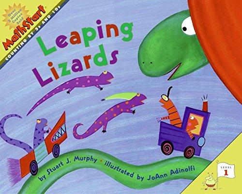 [Mathstart Leaping Lizards] (By: Stuart J Murphy) [published: November, 2005] Murphy Lizard