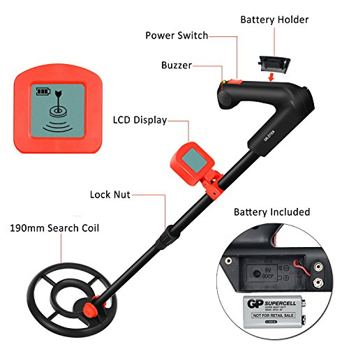 Easy-to-Operate-LCD-Metal-Detector-for-Children-and-Adults-Sound-Mode-LCD-Alert-Light-Weight-Perfect-for-Beginners-Find-Artifacts-Coins-Antiques