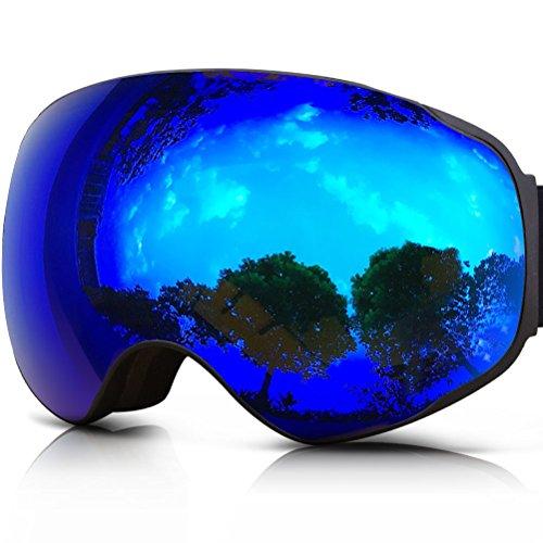 ZIONOR Lagopus X2 Motos Nieve Snowboard Skate Gafas