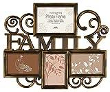 Innova PI04983 Milano 2 Family Bilderrahmen für 4 Fotos