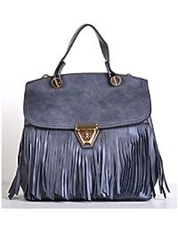 Hopping Street Zip Gray Handbag