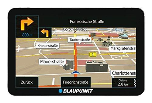 Blaupunkt TravelPilot 73² CE LMU - Navigationssystem mit 17,5 cm (7 Zoll) Display, Kartenmaterial Zentraleuropa, lebenslange Karten-Updates*, TMC Stauumfahrung