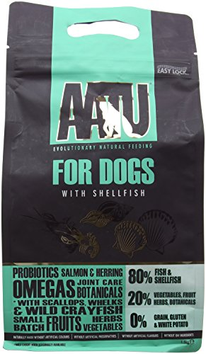 AATU 80/20 Dry Dog Food, Chicken, High Protein, Grain Free Recipe, No Artificial Ingredients, 1.5 kg