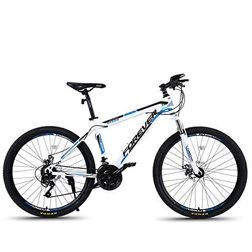 AI CHEN Mountainbike Aluminiumlegierung EIN Rad Doppelscheibenbremse Dämpfung Geschwindigkeit Männlichen und Weiblichen Studenten Fahrrad 26 Zoll 27 Geschwindigkeit