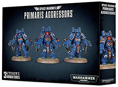 Jeux Atelier 99120101184 Space marines Primaris Aggressors Plastique kit