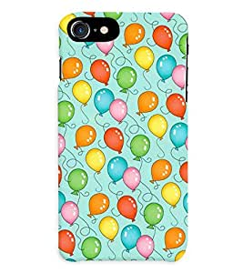 APPLE iPHONE 7 MULTICOLOR PRINTED BACK COVER FROM GADGET LOOKS