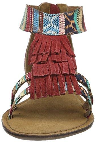 Tamaris 28171, Salomés femme Multicolore - Mehrfarbig (SCARLET COMB 582)