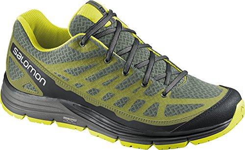 Salomon Synapse Access Shoe - Men's Nile Green / Seaweed Green / Mimosa Yellow 11 Nile Green / Seaweed Green / Mimosa Yellow