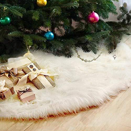 Gonna Albero di Natale Decorazione Domestica Gonna Home Peluche Gonne per Alberi di Natale per Festa di Natale Partito Vacanza Decorazione