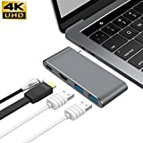 GIKERSY USB C Hub Adapter with 3.1 Power Delivery, HDMI...