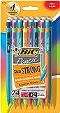 BIC Xtra Strong Mechanical Pencils 24/Pkg-Assorted Barrels
