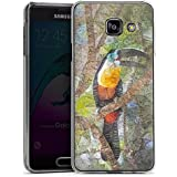Samsung Galaxy A3 (2016) Housse Étui Protection Coque Perroquet Oiseau Tucan